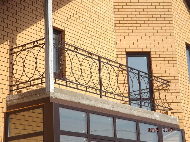 Кованые балкона и решетки на окна в смоленске.